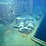 Cargo ship Alcoa Purtian sank by U-507.  Photo from Ocean Exploration Trust